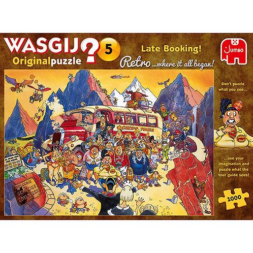 JUMBO -WASGIJ ORIGINAL RETRO #5, RÉSERVATION DE DERNIÈRE MINUTE