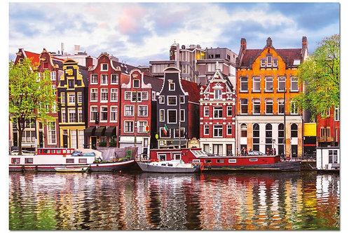 Educa - Maisons dansantes, Amsterdam 1000pcs