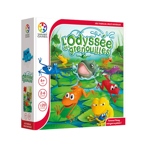 Smart Games - L'ODYSÉE DES GRENOUILLES (