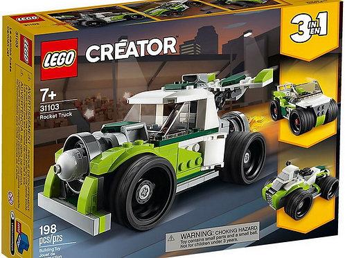 LEGO  Creator - Le camion-fusée