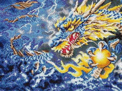DIAMOND DOTZ - Dragon mythique