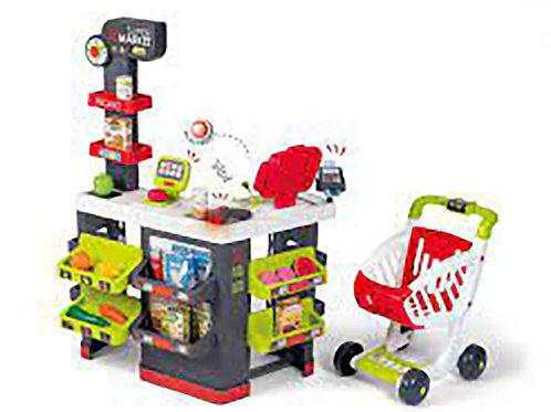 Smoby - Supermarché avec chariot et 42 acc.