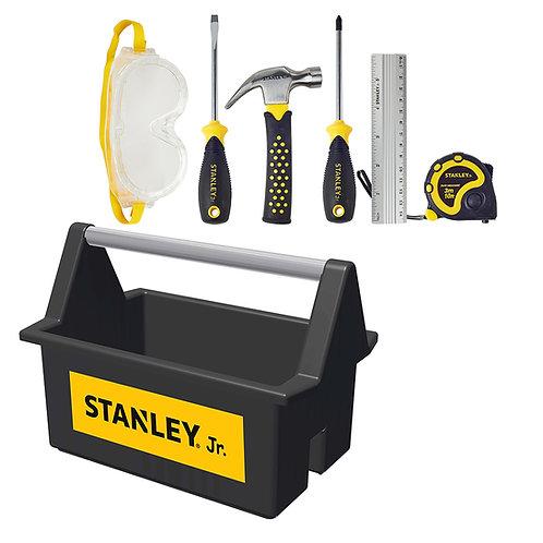 Stanley Jr. - Ensemble Coffre à outils ouvert avec 5 outils