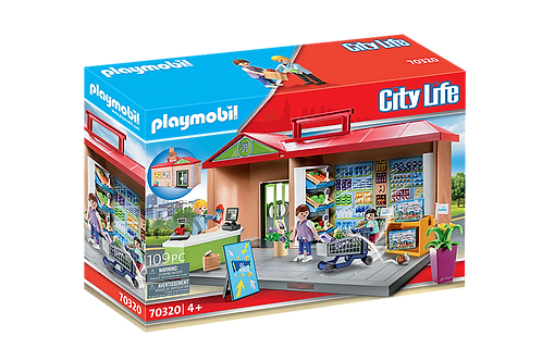 PLaymobil - L'Épicerie transportable
