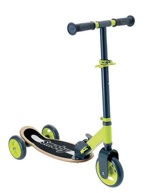 Smoby - Trottinette en bois pliable 3 roues