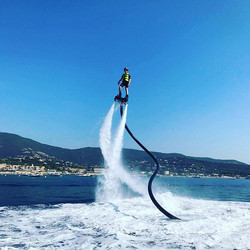 Encore une session de Flyboard prometteu