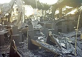Collinsville Christian Church Fire