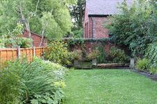 Wednesday morning  back garden. 10th of