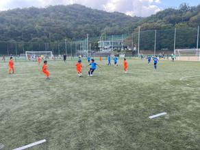 10月9日(土)3・4年A・Bチーム FC交流戦