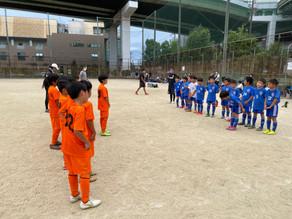 9月26日3・4年生Aチーム港南 FC交流戦
