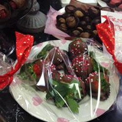 Mellie's Chocolate Covered Strawberries