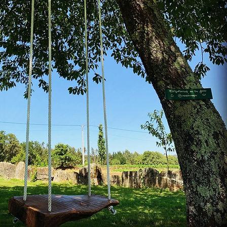 Columpio en árbol en Fragas do Eume