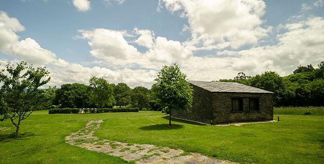 casa rural con piscina en a coruña