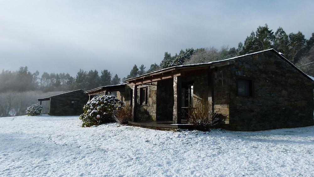 Casa rural en a Coruña en Fragas do Eume, Galicia. Alquiler completo o independiente de nuestras cabañas.