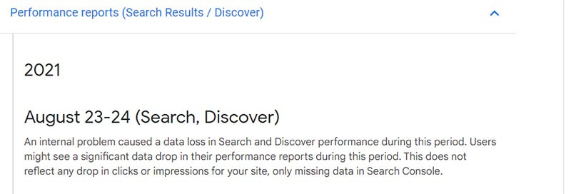 מסוף החיפוש מאבד נתונים