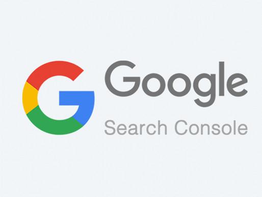 מסוף החיפוש של גוגל מחזיר את הכלי לאינדוקס בקשות