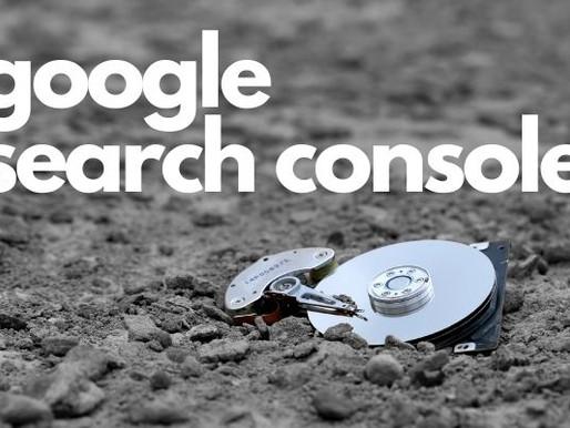 מסוף החיפוש של גוגל מאבד נתונים