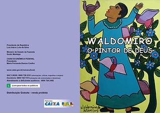 Convite e catálogo Caixa Cultural