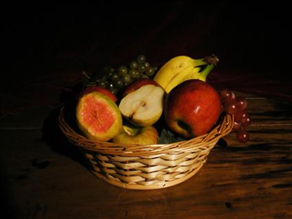 frutas a caravaggio