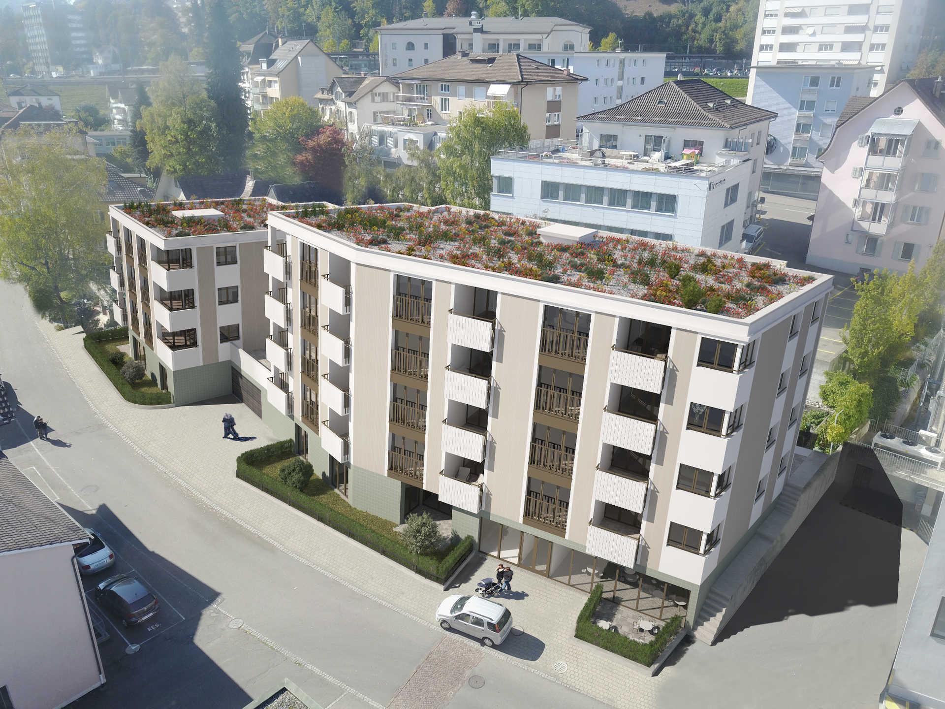 Neubau Konsumstrasse Uzwil SG   35 Wohnungen   Belano