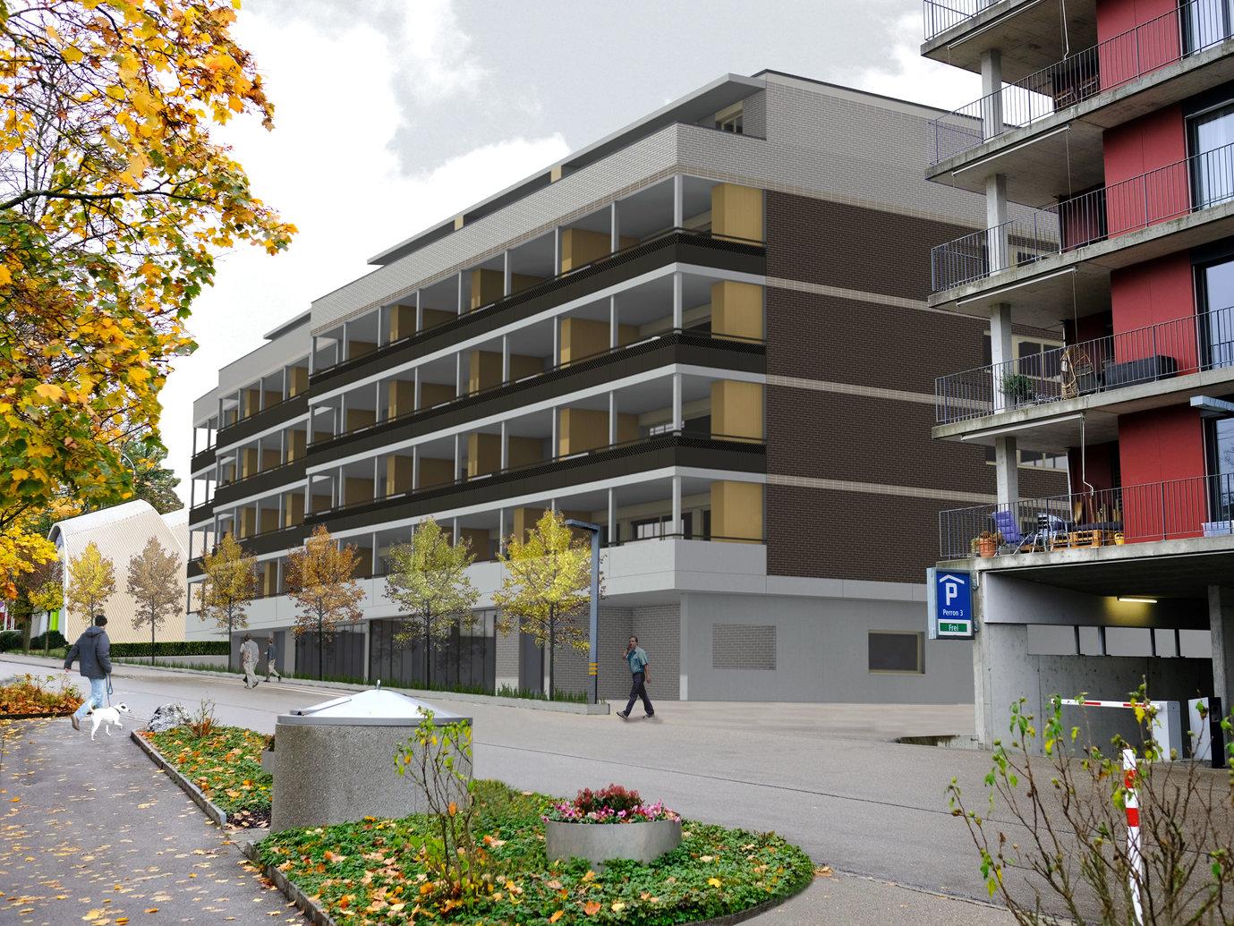 SNP Stadtbühl Gossau SG | 35 Wohnungen / Erdgeschoss Gewerbe | PKTG