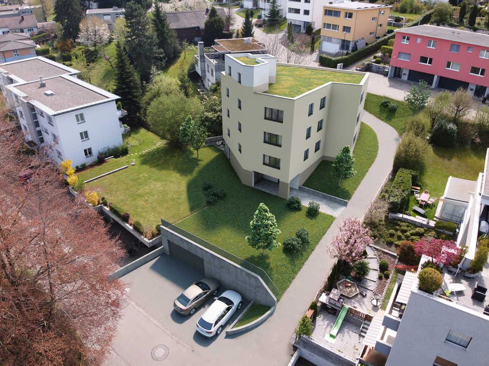 Neubau MFH Alpsteinstrasse Uzwil SG | 7 Wohnungen | Mavi Immobilien AG