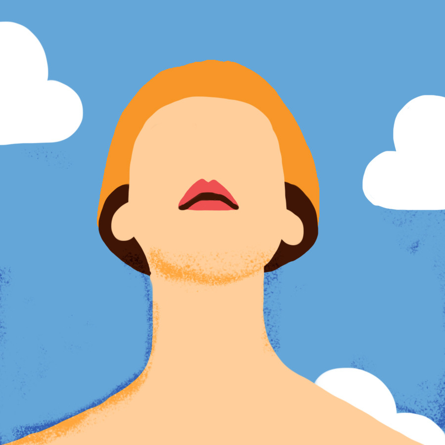 Image of woman and clouds - Oakland Therapist EMDR Therapist Jesse