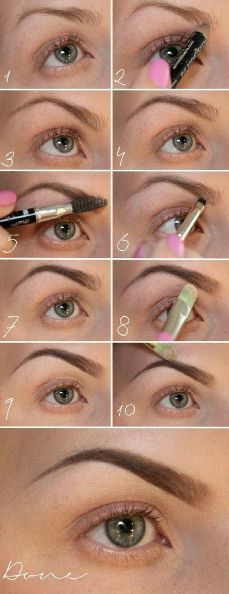 The Perfect Eyebrows Pictorial