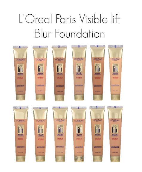 L'Oreal Paris Visible Lift Blur Foundation