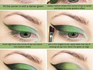 Amazing Green Eye Shadow Pictorial!