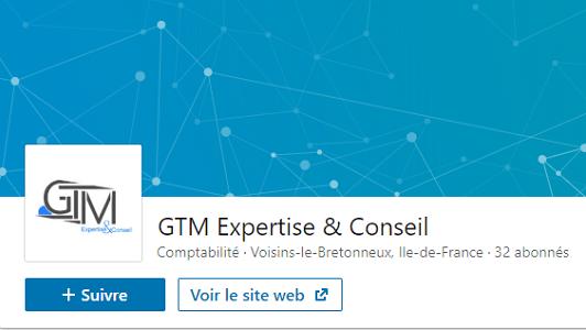 Suivez GTM Expertise & Conseil sur LinkedIn   Cabinet d'expertise comptable dans les Yvelines  