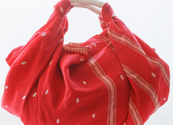 KNOTTED BIG / SARI RED