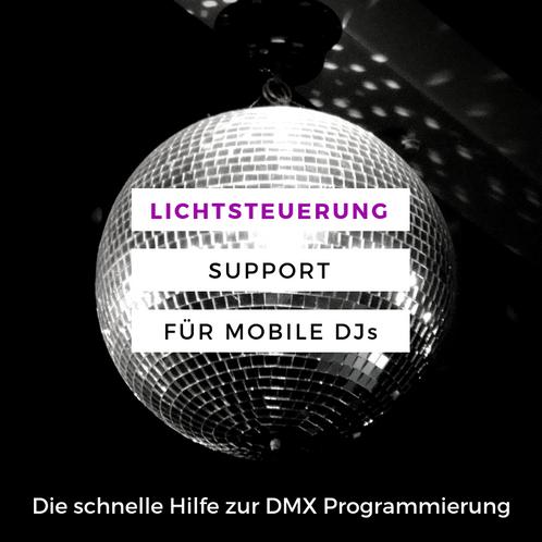 Welp Lichtsteuerung Support für DJ mit DMX bei DasLight AirDMX Lightrider QQ-05