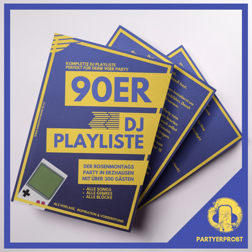 90er Party Dj Playliste