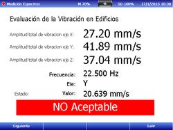 Evaluación Vib. en edificio