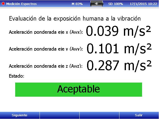 Evaluación exposición Mano/Brazo