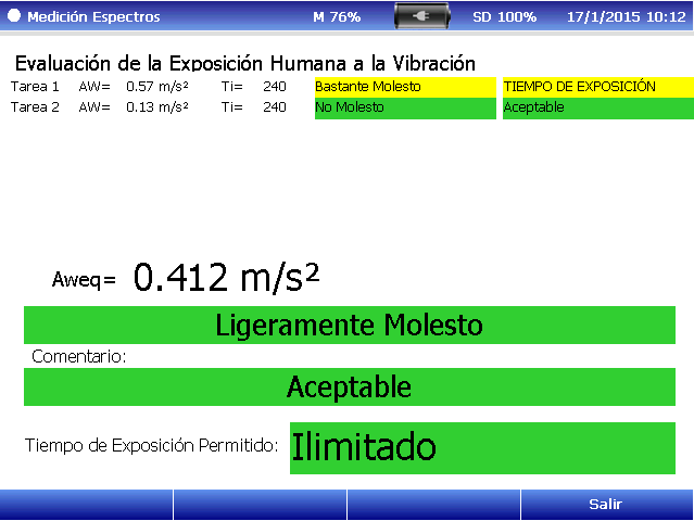 Evaluación exposición humana