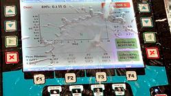 Colector de datos, balanceador de maquinas y rotores, análisis de rodamientos