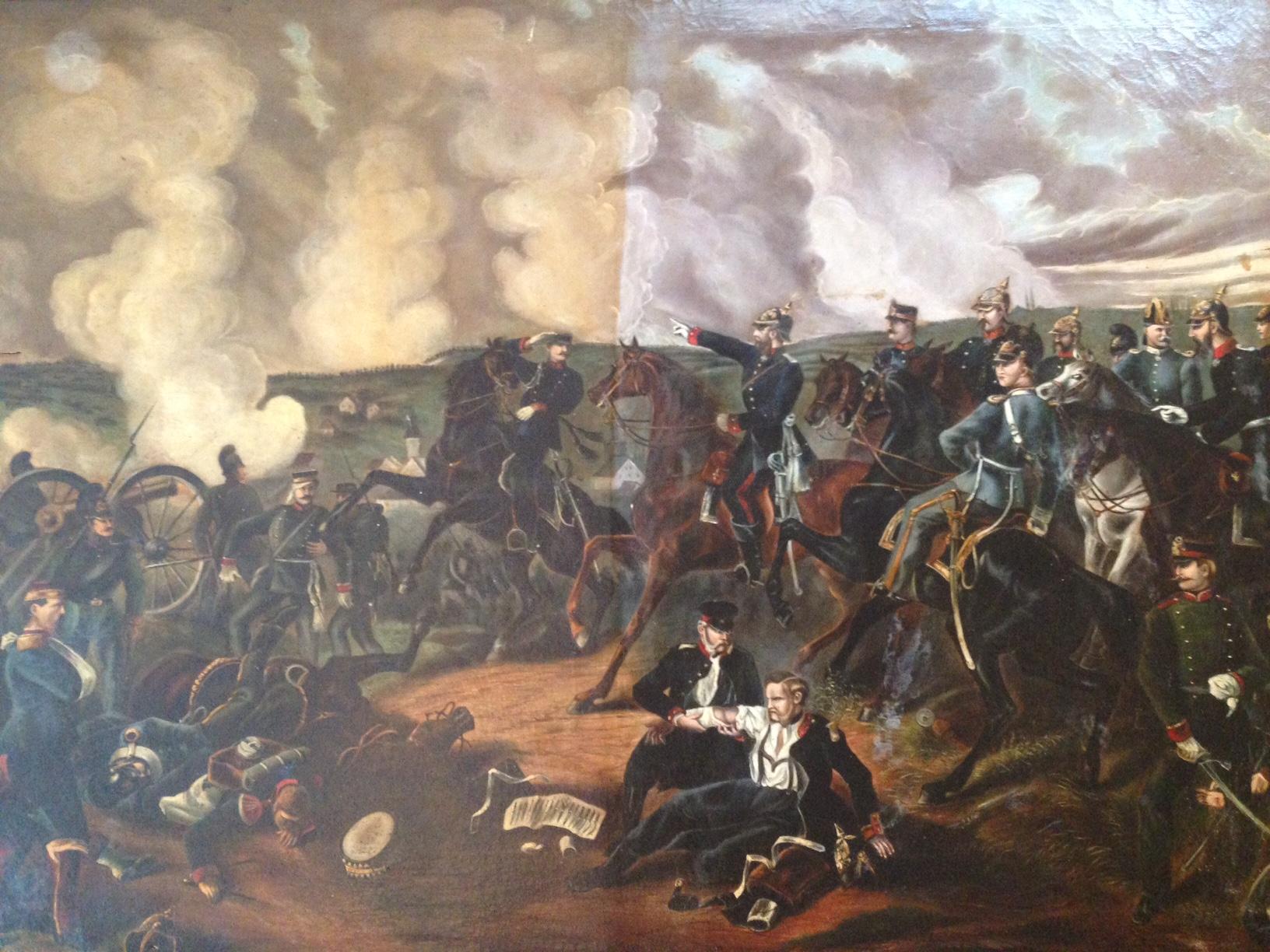 Battle Fields, oil on canvas