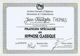 Diplome Hypnose classique.jpg