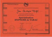 jean-Christophe Thomas - hypnotherapeute certifié arrêt tabac  IFHE
