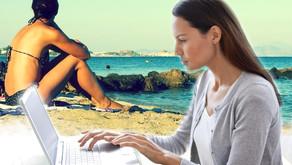 Et si vous faisiez une pause plage pendant votre journée de télétravail ?