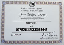 Jean-Christophe Thomas - Praticien en Hypnose Ericksonienne