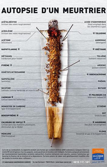 les substances meutrieres du tabac - Ligue contre le cancer