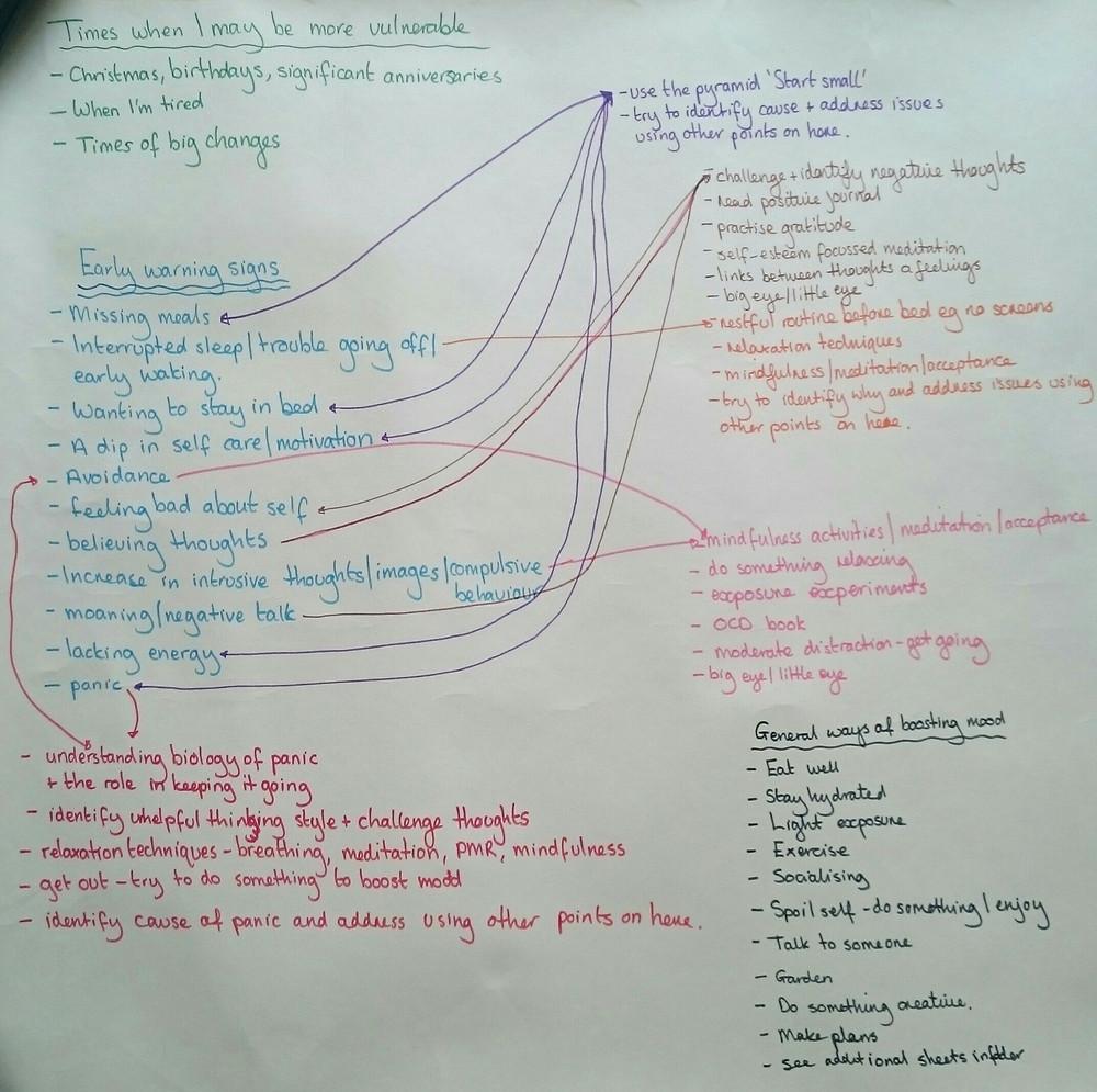 blueprint symptoms and strategies