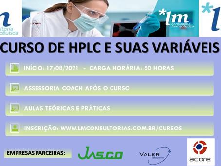 CURSO DE HPLC