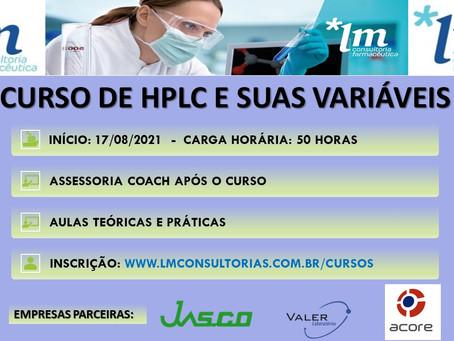 HPLC E SUAS VARIÁVEIS