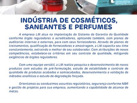 Indústria de Cosméticos, Saneantes e Perfumes