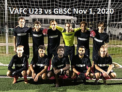 U23 VA FC (31 Oct 20) starting 11 (2).jp