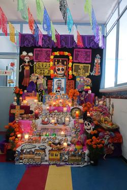 altar de muertos kinder